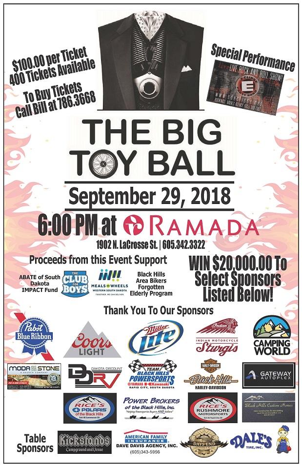 2017 Big Toy Ball Flier